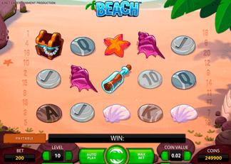 Machine à sous Beach